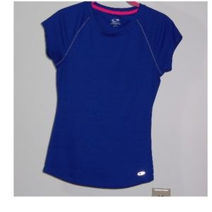 CHAMPION  ATHLETIC TOP, ROYAL BLUE,  XS, NWOT